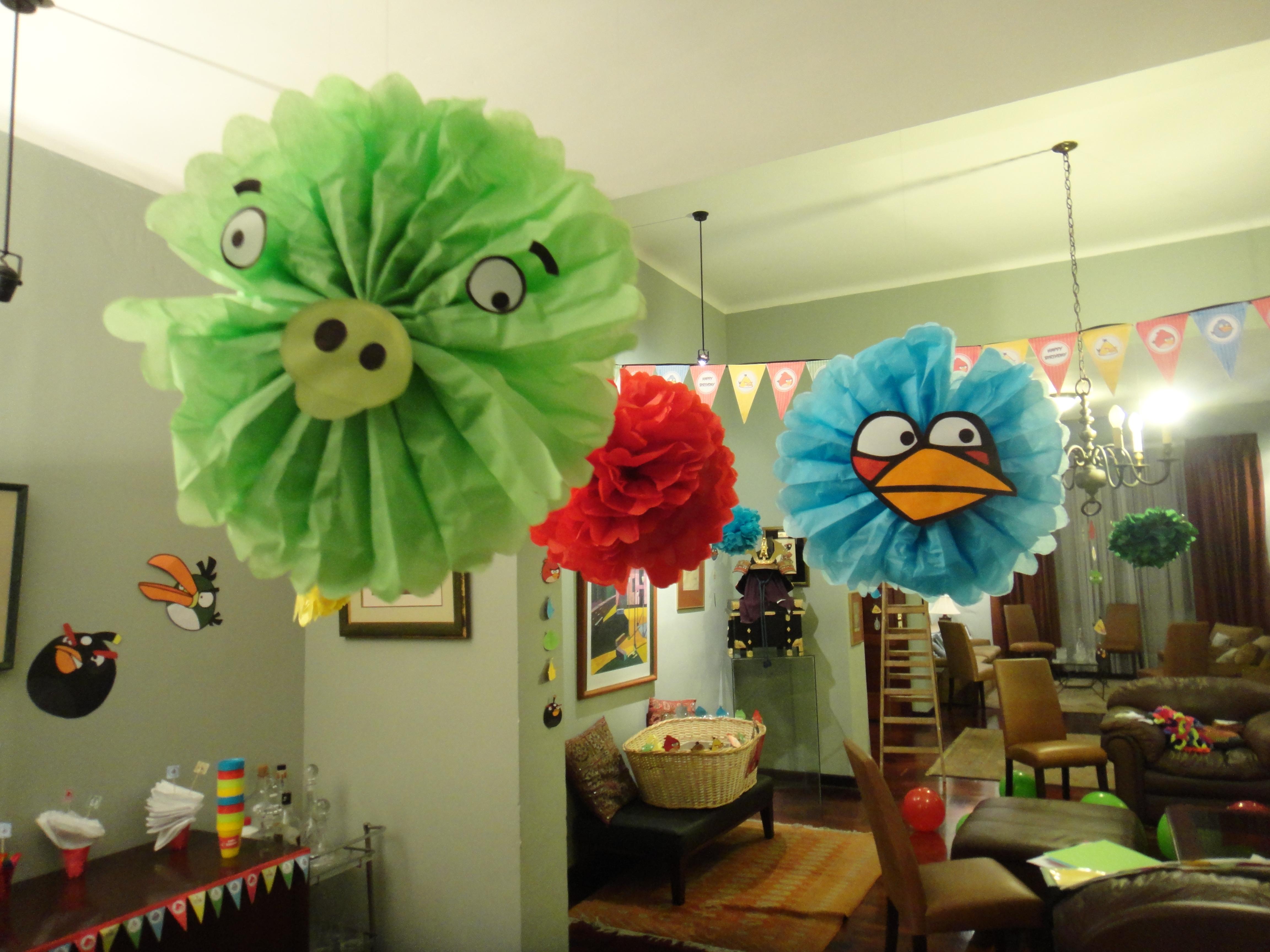 Fiesta angry birds la casa de la tata - Casa para fiesta ...
